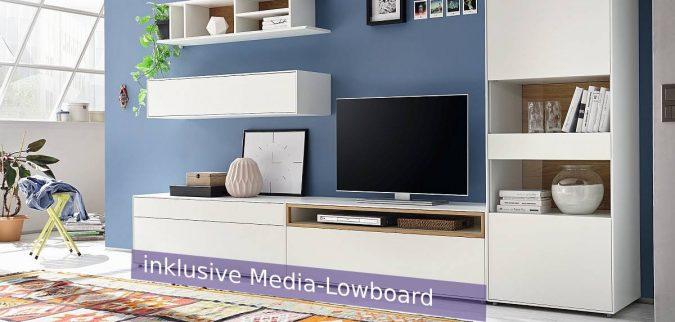 h lsta now easy highboard mit stellf e 980173. Black Bedroom Furniture Sets. Home Design Ideas