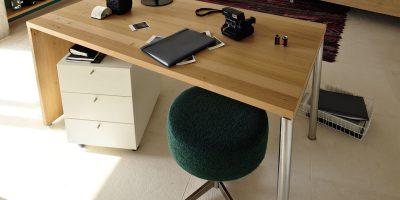 hülsta NOW! HOME OFFICE Schreibtisch No. 1 – Designe Deinen Schreibtisch online!