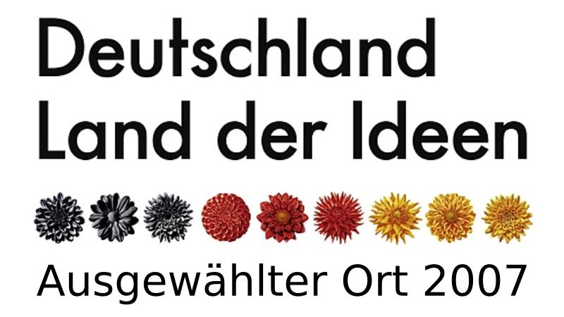 """Bereits 2007 wurde hülsta als """"Ausgewählter Ort im Land der Ideen"""" unter 1.500 Kandidaten von der Standortinitiative """"Deutschland – Land der Ideen"""" ausgezeichnet."""
