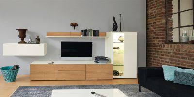 hülsta NOW! VISION Wohnwand – 2 Designs