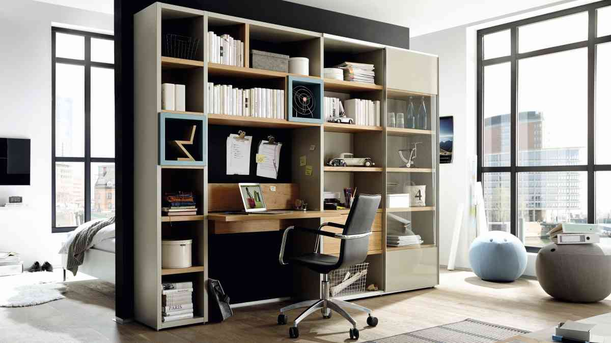 best style bundle now time regalwand mit integriertem schreibtisch steckerleiste inkl usb. Black Bedroom Furniture Sets. Home Design Ideas