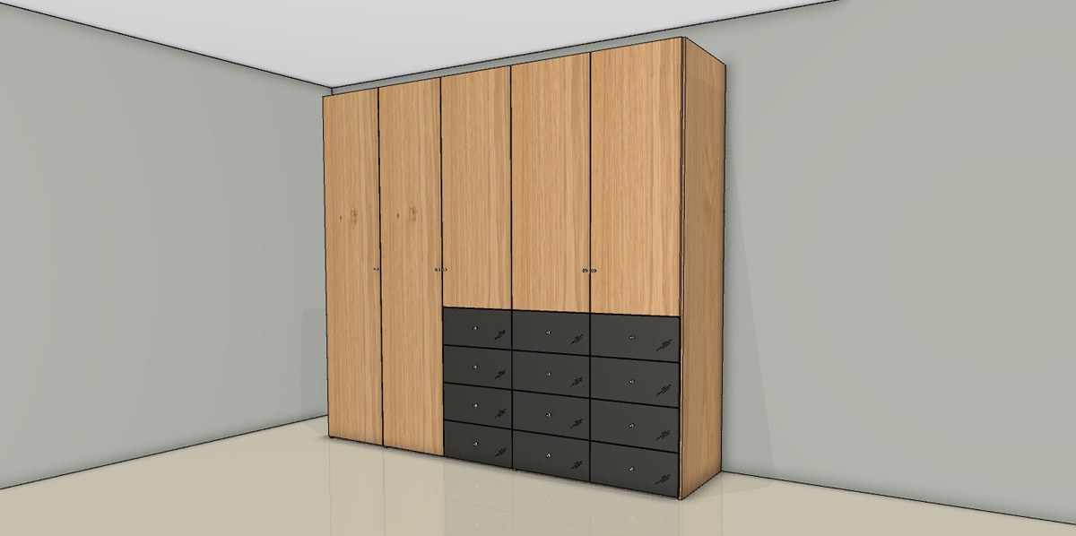 konfigurator now flexx kleiderschrank 980505 18. Black Bedroom Furniture Sets. Home Design Ideas