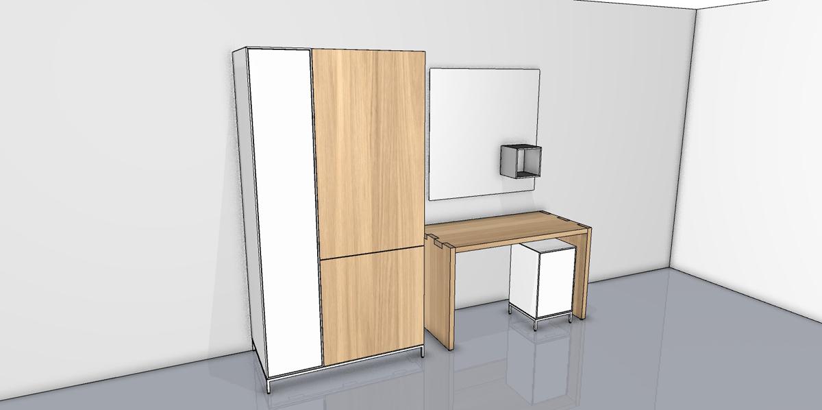 now! spin Vorzugs-Set: Schrank Schreibtisch Stauraum-Modul mag ...
