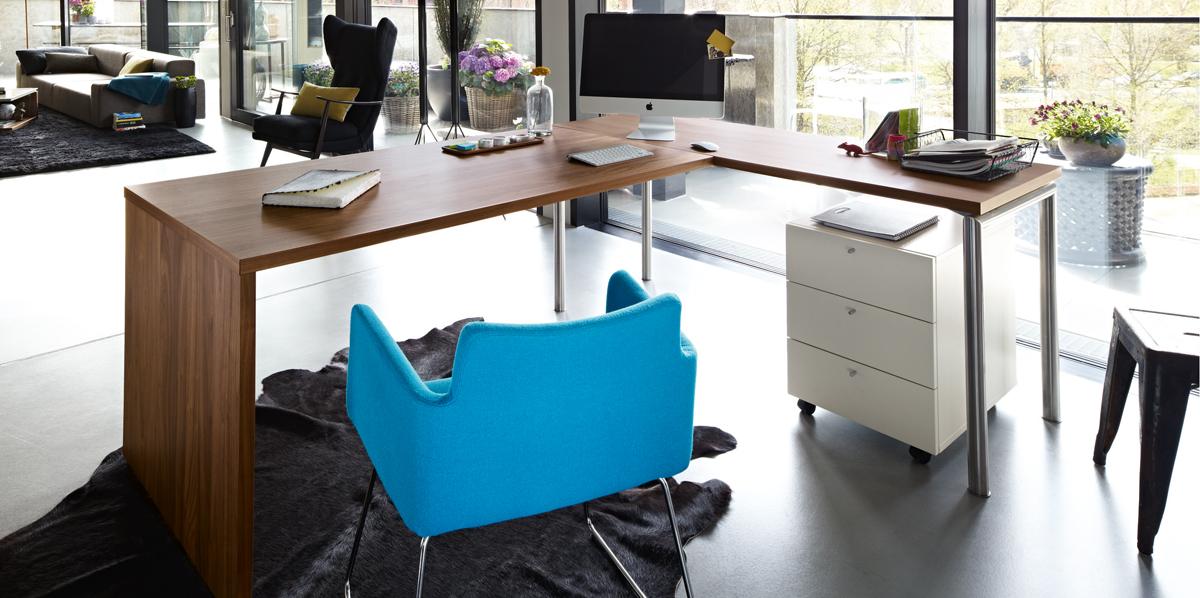 best style bundle now time home office set zum vorzugs preis eck schreibtisch rollcontainer. Black Bedroom Furniture Sets. Home Design Ideas