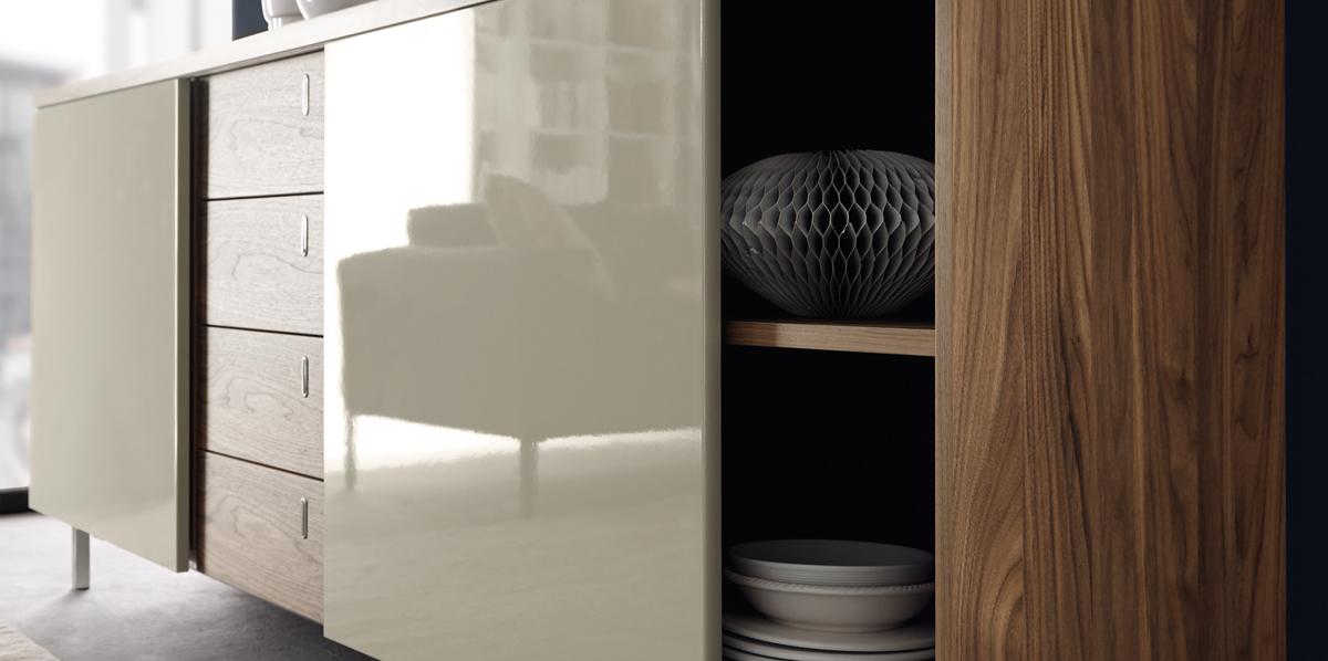 highboard hochglanz grau schnes frische haus ideen schrankwand grau hochglanz highboard grau. Black Bedroom Furniture Sets. Home Design Ideas