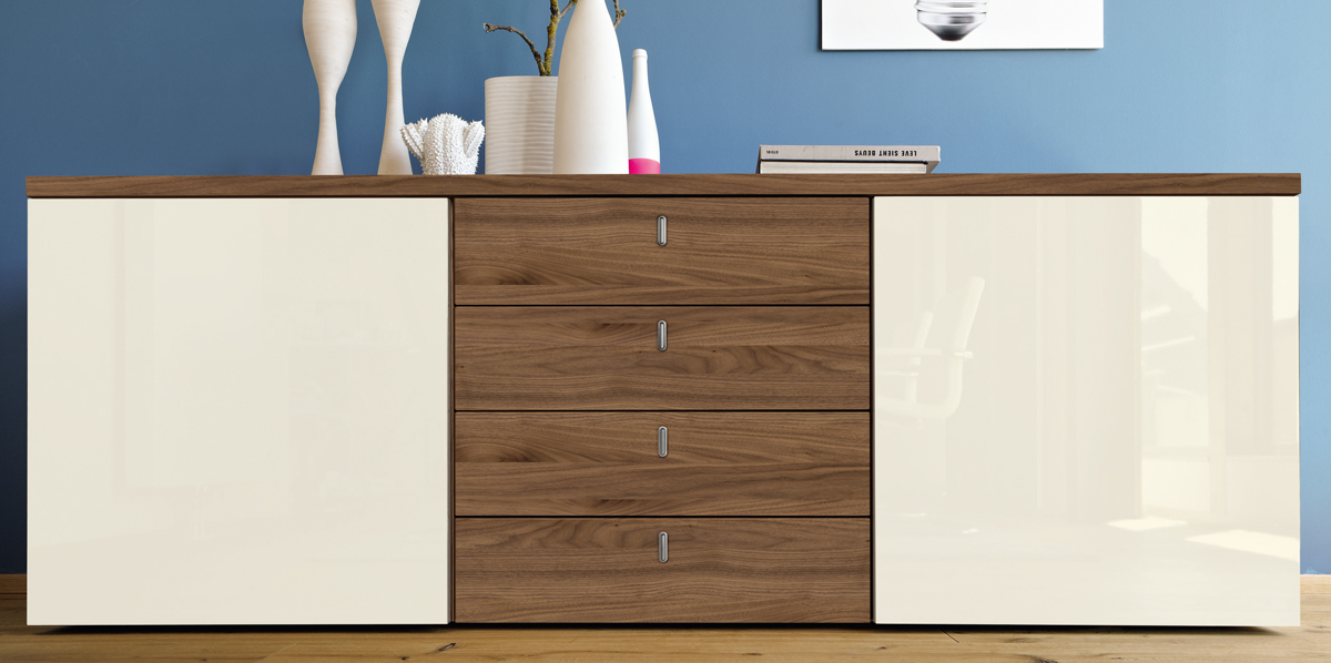 Hülsta Now Time Sideboard 4340 In 19 Designs H737 X B210 X T45 Cm