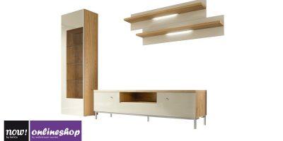 hülsta NOW! TIME Wohnwand #990008 – 19 Designs – ca. H216,2 x B 295,2 x T50 cm