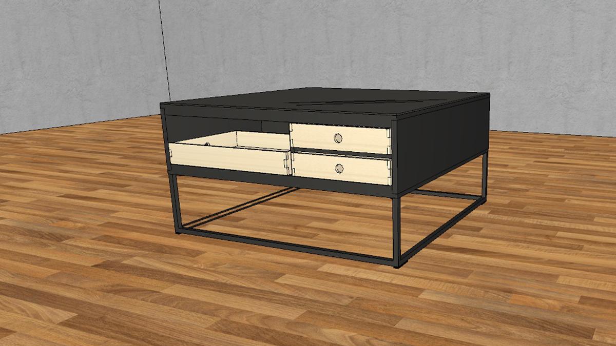 aktion 2x stecklade 1x tablett f r now couchtisch ct 20 in 3 versionen. Black Bedroom Furniture Sets. Home Design Ideas