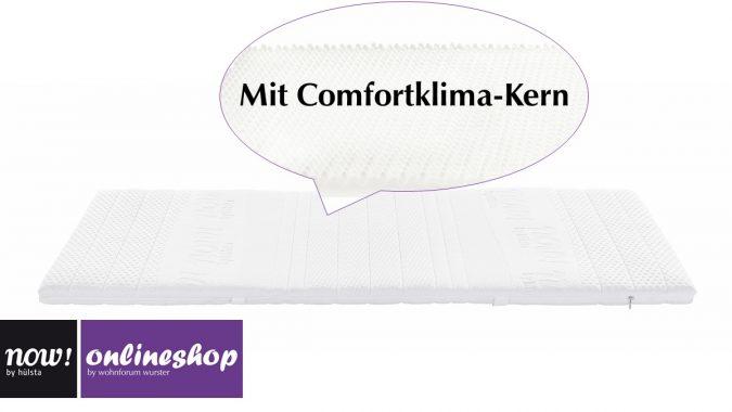now! by hülsta topper mit Comfortklima-Kern und Rundumreißverschluss