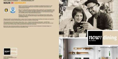 now! dining Broschüre