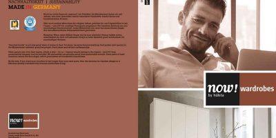 now! wardrobes Broschüre