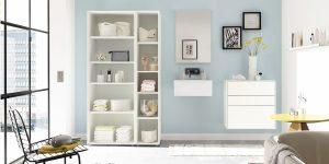 hülsta NOW! EASY Badezimmer-Möbel-Set (4 teilig)