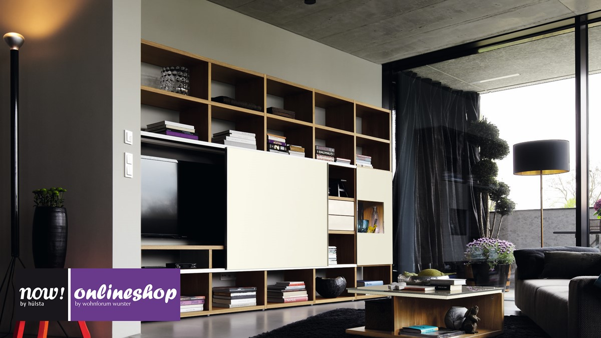 Hulsta Now Time Wohnwand 990013 Versandkostenfrei Bestellen