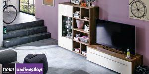 hülsta NOW! TIME Wohnwand #980007 – 19 Designs – ca. H145,8 x B283,1 x T50cm