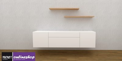 now! for you Sideboard mit Hänge-Regalen in 3 versch. Designs