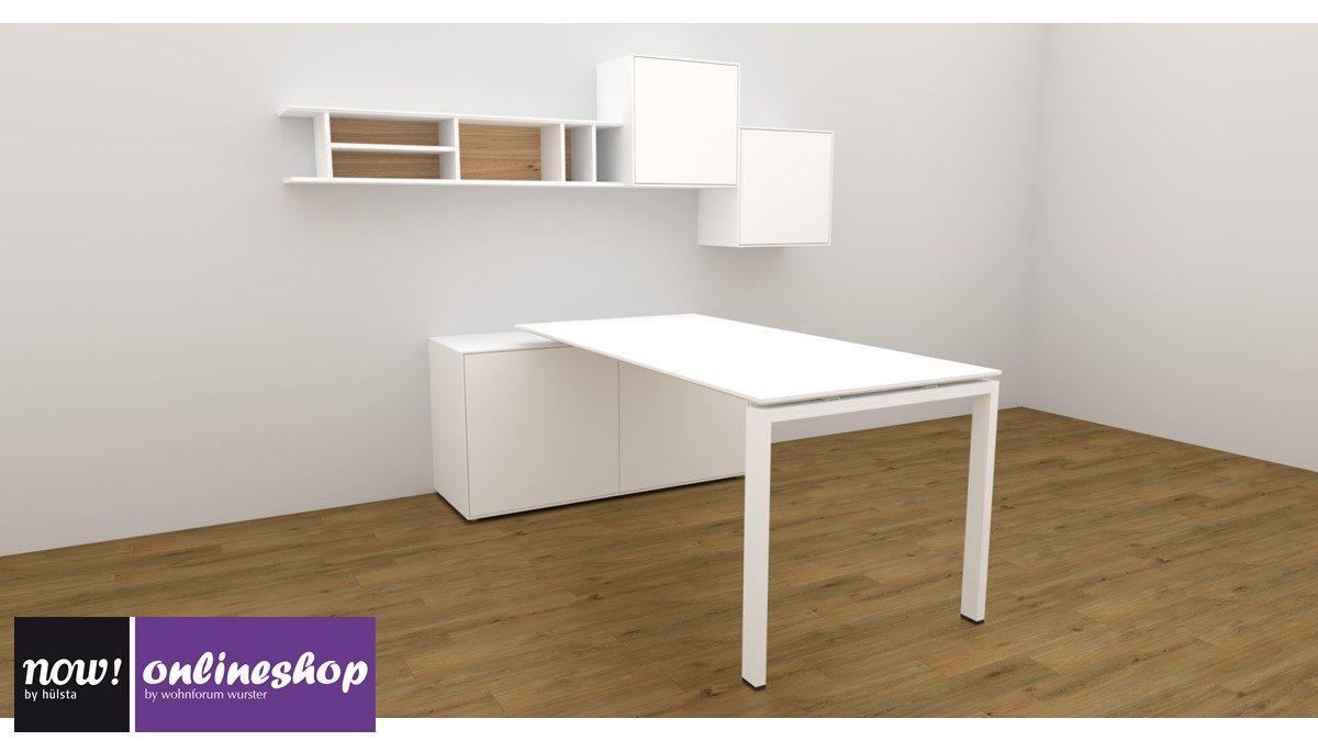 #980125 now! easy Home-Office-Lösung mit Akzent in Natureiche