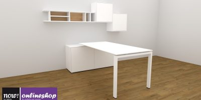 hülsta NOW! EASY Home-Office-Lösung in 3 Looks ca. H177,4 x B230,4 x T 195,8cm
