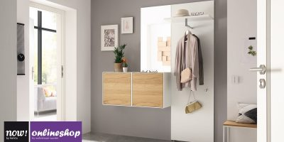 hülsta NOW! EASY Garderobe in 3 Designs ca. H204,8 x B166,4 x T44,8 cm