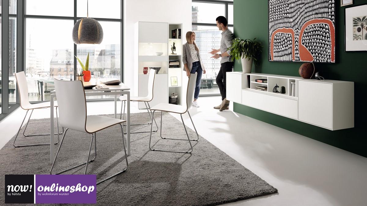 esszimmermobel von hulsta, hülsta now! easy esszimmer-bundle: tisch, stühle, sideboard und, Design ideen