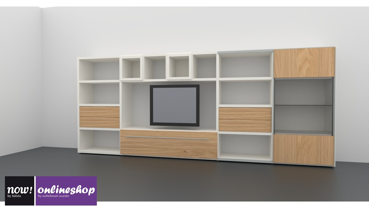 h lsta now time wohnwand 980010 jetzt selbst online designen. Black Bedroom Furniture Sets. Home Design Ideas