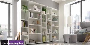 hülsta NOW! EASY Bücherwand – klassisch – ca H179,2xB224 xT44,8cm