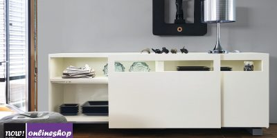 hülsta NOW! VISION Sideboard #1418 mit Schiebetüren  – 12 Looks ca. H70,4x B176,1 xT52cm