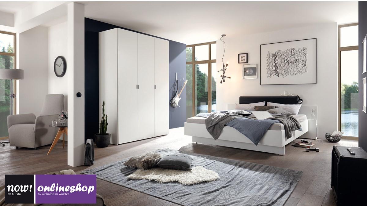 h lsta now basic kleiderschrank h 225 4 x b 203 8 x t 61. Black Bedroom Furniture Sets. Home Design Ideas