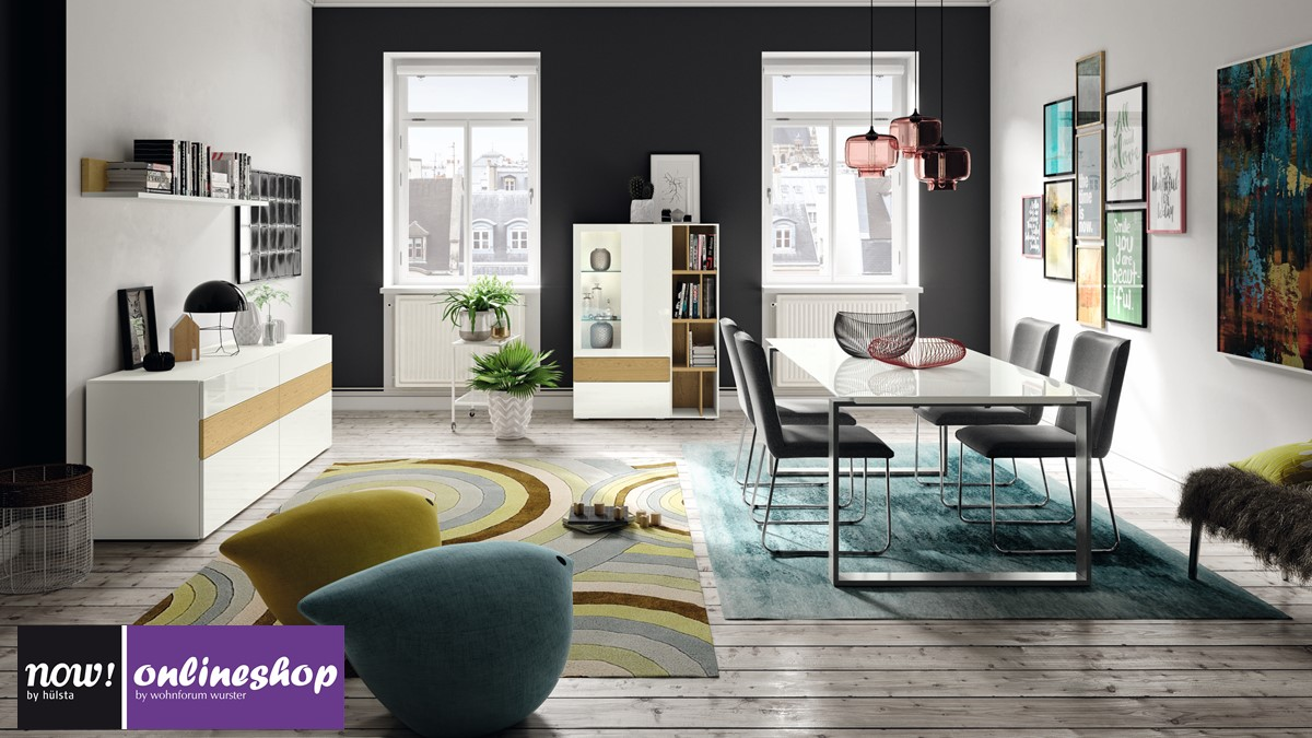 komplettes now vision esszimmer jetzt selber online designen mit 3 klicks. Black Bedroom Furniture Sets. Home Design Ideas