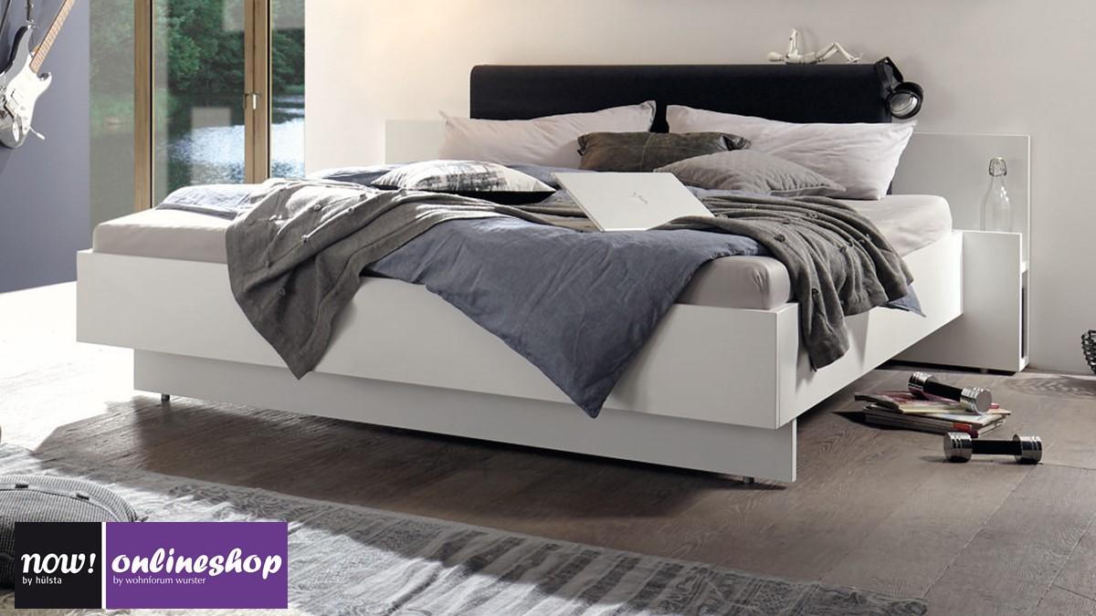 h lsta now basic bett in versch ma en und mit 2 versch polsterkopfteil farben. Black Bedroom Furniture Sets. Home Design Ideas