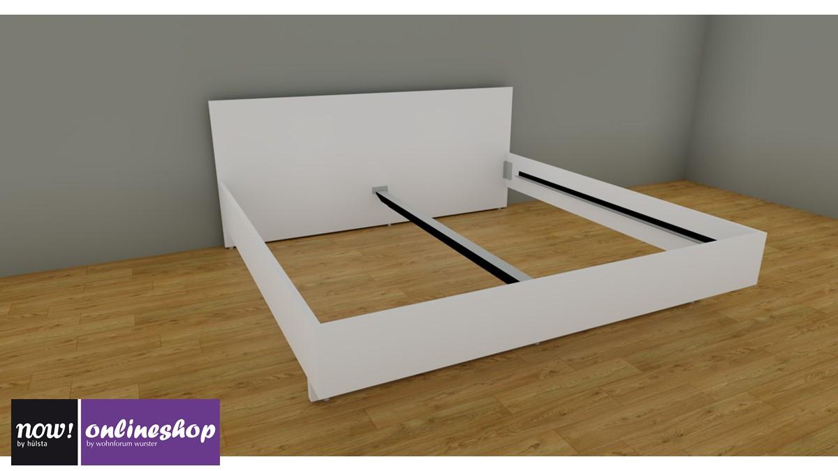 Hülsta NOW! BASIC Bett Mit Holzkopfteil