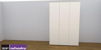 hülsta NOW! FLEXX Vorzugs-Kleiderschrank #990001 – 4 versch. Looks – H225,4 x B152 x T61 cm