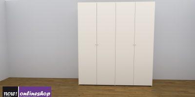 hülsta NOW! FLEXX Vorzugs-Kleiderschrank #990003 – 4 versch. Looks – H225,4 x B202 x T 61 cm