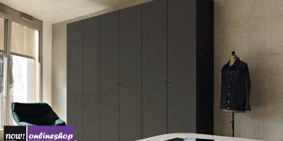 hülsta NOW! FLEXX Vorzugs-Kleiderschrank #990005 – 4 versch. Looks – H225,4 x B302 x T61cm