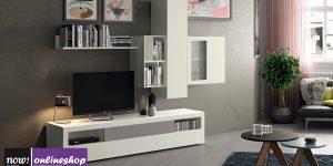 hülsta NOW! VISION Wohnwand #990001 – über 90 verschiedene Designs wählbar!
