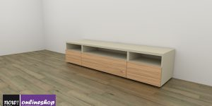 hülsta NOW! VISION Lowboard #1560 – 12 Designs – ca. H44,8 x B211,3 x T52