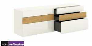 hülsta NOW! VISION Sideboard #1419, 6Schubladen,versch Designs, H70,4xB176,1xT52cm