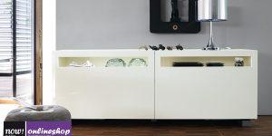 hülsta NOW! VISION Sideboard #1422 mit Schiebetüren  – 12 Looks ca. H70,4x B211,3 xT52cm