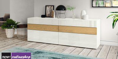 hülsta NOW! VISION Sideboard #1423, 6Schubladen,versch Designs, H70,4xB211,3xT52cm