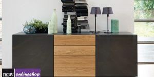 hülsta NOW! VISION Sideboard #1431 mit 2 Türen und 3 Schubladen