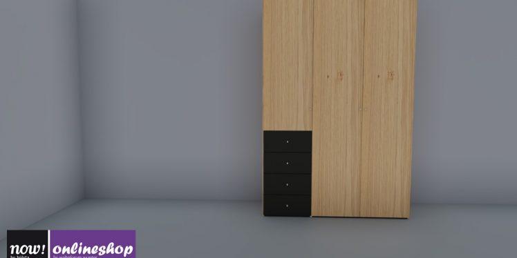 NOW! FLEXX Drehtürenschrank mit Schubladen #989508 jetzt mit wenigen Klicks im now!-Onlineshop selbst designen!