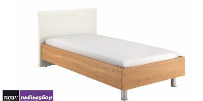 hülsta NOW! SLEEPING Bett mit Kunstlederkopfteil B, #4223, BREITE 100 cm – 12 versch. Designs,