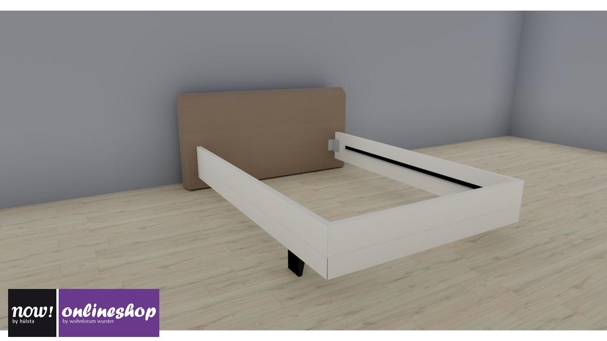 hülsta NOW! SLEEPING Bett mit Polsterkopfteil #324, Breite 140 cm ...