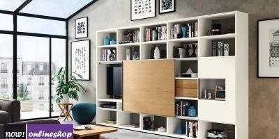 hülsta NOW! TIME Wohnwand #990013 – Bestseller in der Sonderedition: 24 Designs möglich!