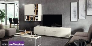 hülsta NOW! VISION Wohnwand #990012 in 18 versch. Designs! – H152,4 x B317,1 x T52 cm
