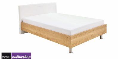 hülsta NOW! SLEEPING Bett mit Kunstlederkopfteil B, #4223, BREITE 140 cm – 12 versch. Designs