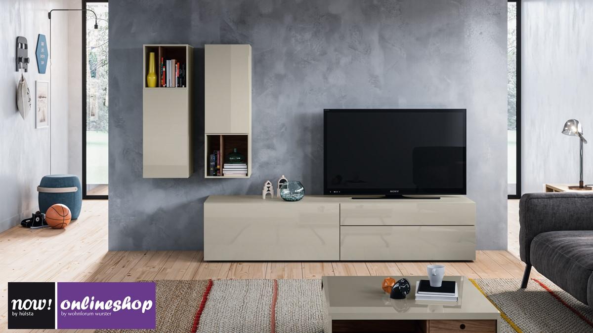 hülsta NOW! VISION Wohnwand #990011 - 30 Designs möglich