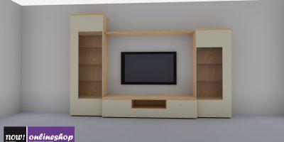 hülsta NOW! TIME Wohnwand jetzt selbst designen! Zahlreiche Looks! H211,2 x B323,2 xT50 cm