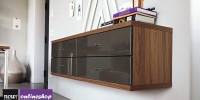 kompaktes hülsta NOW! TIME Sideboard #980015 mit 4 Schubladen. Verschiedene Looks!