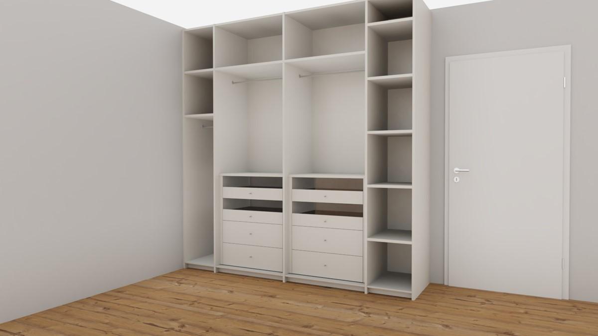 h lsta now flexx offener kleiderschrank no 1 edition. Black Bedroom Furniture Sets. Home Design Ideas