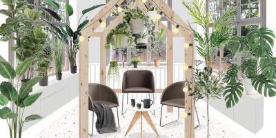 Urban Jungle Kombination - Entwurf von Karolin und Anne Peter